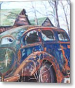 Autumn Retreat - Old Friend Vi Metal Print