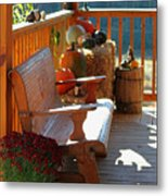 Autumn Retreat Metal Print