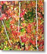 Autumn Sanctuary Metal Print