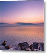 Sunrise At Sibbald Point Metal Print