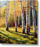 Autumn Shade Metal Print