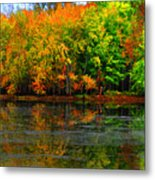 Autumn Sings Metal Print