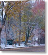 Autumn Snow Metal Print by James BO  Insogna