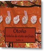 Autumn Spanish Metal Print