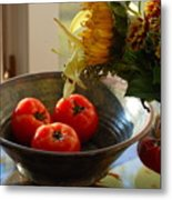 Autumn Still Life II Metal Print