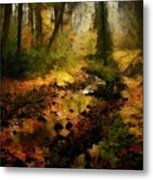 Autumn Sunrays Metal Print by Gun Legler