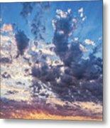 Autumn Sunrise - Lyme Regis Metal Print