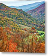 Autumn Valley Metal Print