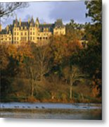 Autumn View Of The Biltmore Metal Print by Melissa Farlow