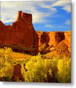 Autumn Vista Metal Print