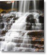 Autumn Waterfall II Metal Print