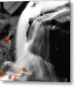 Autumn Waterfall Iv Metal Print