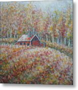 Autumn Whisper. Metal Print