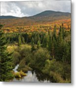 Autumn - White Mountains New Hampshire Metal Print