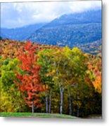 Autumn White Mountains Nh Metal Print