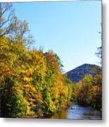 Autumn Williams River Metal Print