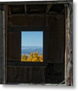 Autumn Windows Metal Print by Barry C Donovan