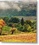 Autumnal Hills Metal Print