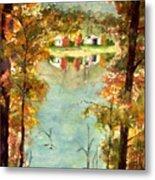 Autumn's Peaceful Abode  Metal Print