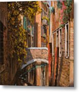 autunno a Venezia Metal Print by Guido Borelli