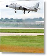 Av-8 Harrier Metal Print