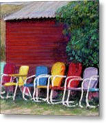 Available Seating Metal Print