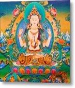 Four-armed Avalokiteshvara Metal Print