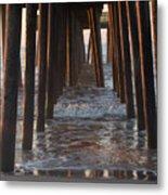 Avalon Pier At 32nd Street Metal Print