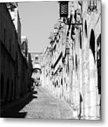 Avenue Of The Knights Metal Print