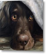 Avery Under Cover Metal Print