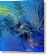Avian Dreams 4 - Mating Rituals  Metal Print