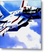 Aviation Art Catus 1 No. 1 19 H B Metal Print