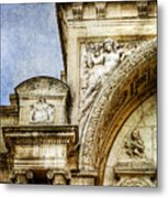 Avignon Opera House Muse 1 - Vintage Version Metal Print
