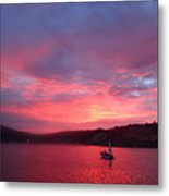 Avila Beach Sunset Metal Print