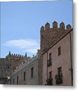 Avila Castle In The Sky Metal Print