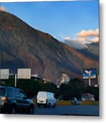 Avila From The Highway Metal Print