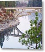 Avista High Bridge Metal Print