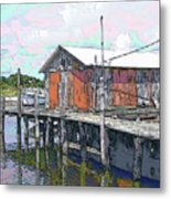 Avon Dock Metal Print