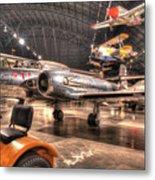 Avro Cf-100 Mk Iv Canuck Metal Print
