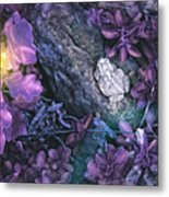 Awaiting His Kiss Metal Print