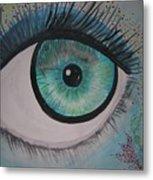 Awakening Eye Metal Print