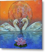 Awakening To The Beauty Within Metal Print