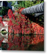 Away To The Red Metal Print