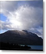 Awesome Aspect Mountain Metal Print