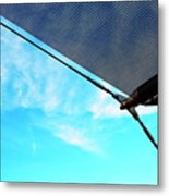 Awning Above A Wharf In Marseille Metal Print