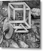 Axis Mundi Metal Print