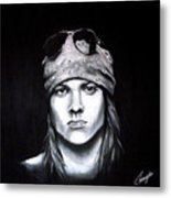 Axl Rose - Welcome To The Jungle Metal Print