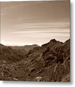 Ayacata And Roque Nublo Metal Print