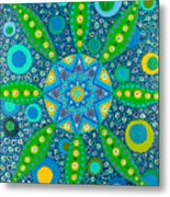 Ayahuasca Vision - Inside The Plant Cell  May 2015 Metal Print