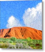 Ayers Rock Metal Print